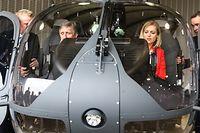 Lokales,Cérémonie d'Acceuil du premier des deux hélicopteres Airbus H145M,Polizeihubschrauber,Polizeihelicopter. Armee, Foto: Gerry Huberty/Luxemburger Wort