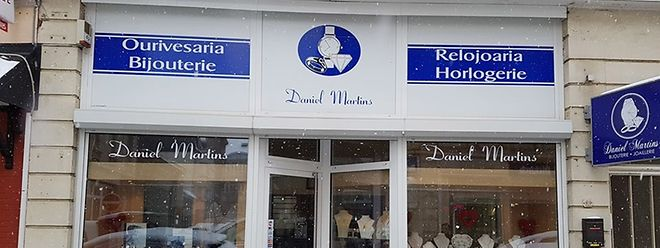 Ourivesaria Daniel Martins assaltada em Esch