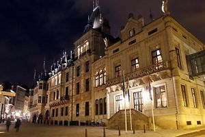 19.12. Luxemburg Stadt / Palais Grand Ducal / Grossherzoglicher Palast / Chambre des Deputes / Abgeordnetenkammer Foto: Guy Jallay