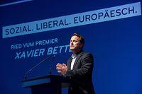 IPO , DP Europakongress , Europawahlen 2019 , Centre Culturel Walferdingen , Xavier Bettel Foto:Guy Jallay/Luxemburger Wort