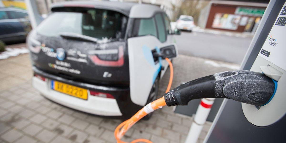Einige Gemeinden bieten neben der Möglichkeit, das eigene Elektroauto zu laden, auch einen Ausleihdienst an, wie beispielsweise in Hesperingen.