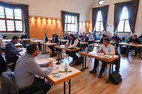 Lokales,Gemeinderat Bisssen-Abstimmung PAP-Bissen.Foto: Gerry Huberty/Luxemburger Wort