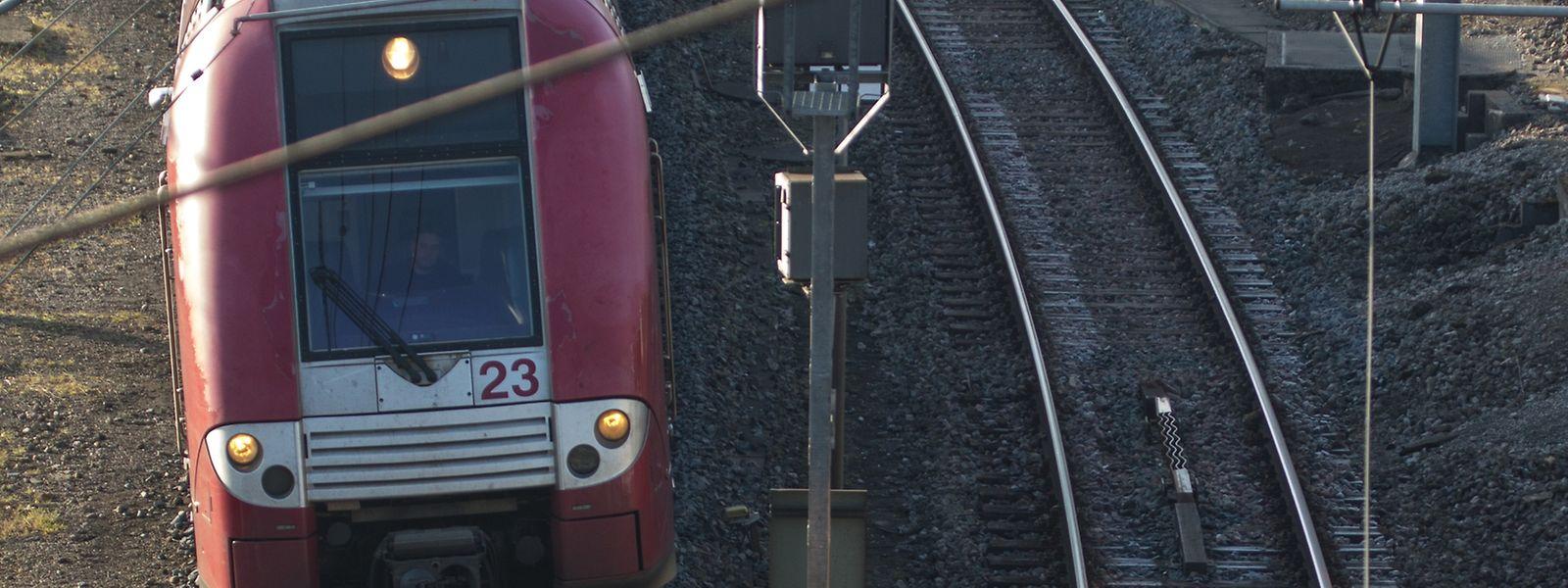 23 Züge werden auch am Mittwoch die Strecke zwischen Luxemburg und Thionville bedienen.