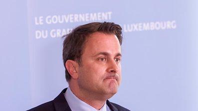Luxembourg Prime Minister Xavier Bettel.
