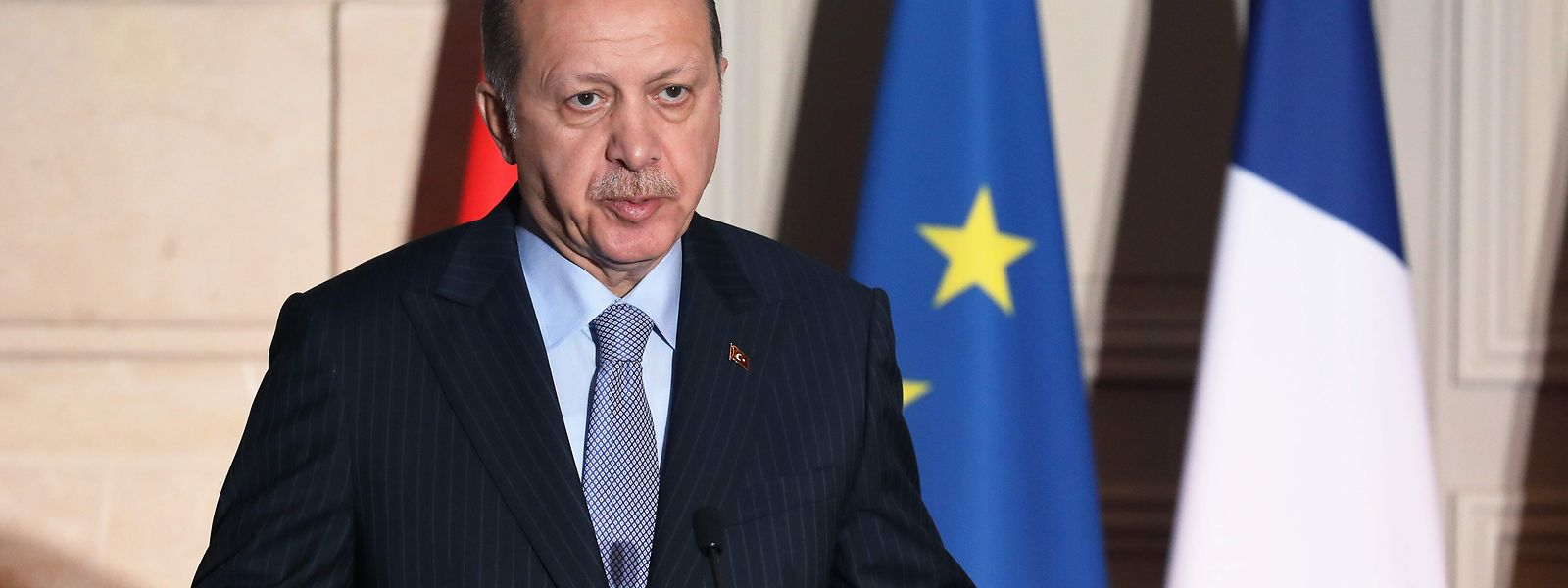 Recep Tayyip Erdogan kann während des Ausnahmezustands per Dekret quasi alleine regieren.