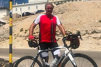 Außenminister Jean Asselborn at the legendary Mont Ventoux #xE4.