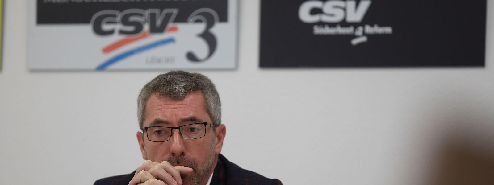Dans un avenir proche, Frank Engel, président démissionnaire du CSV, devrait rendre sa carte du parti pour se lancer dans la création d'une nouvelle entité politique.