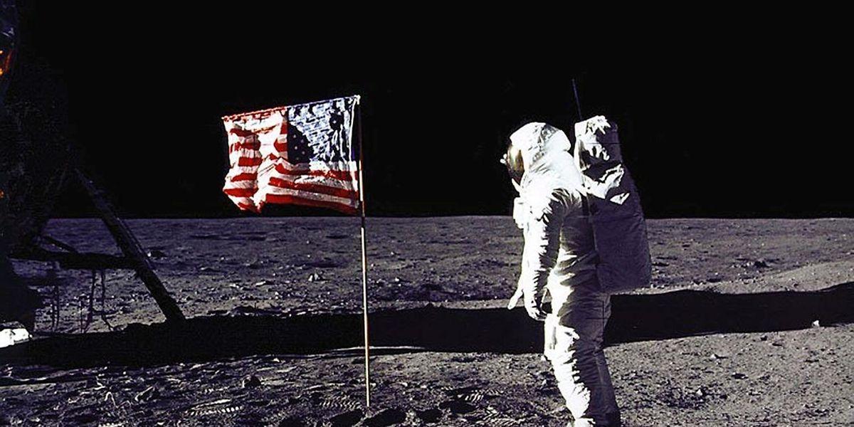 """1969 """"spazierte"""" Buzz Aldrin auf dem Mond - die ISA wollen offenbar an diese Zeiten anknüpfen."""