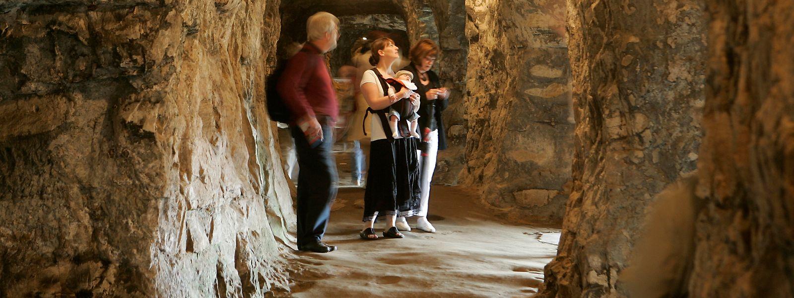 Ein Besuch in den Kasematten des Bockfelsens ist ein besonderes Erlebnis.