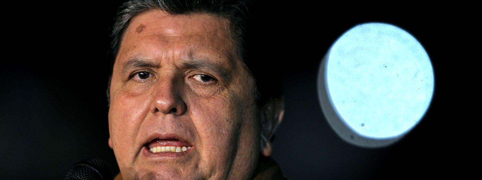 Alan Garcia steht unter Korruptionsverdacht.