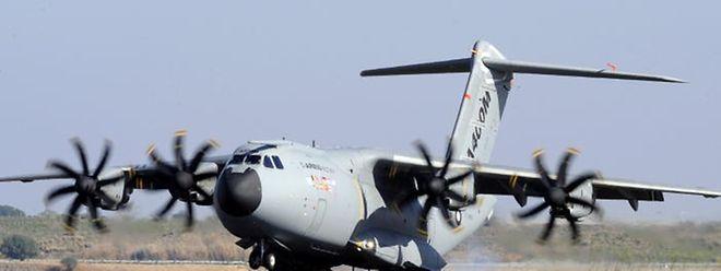 A entrega do avião militar tem sido adiada. O A400M devia ter chegado em 2017.