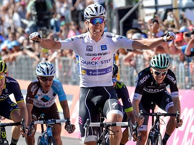 Bob Jungels hat seinen ersten Etappensieg bei einem Grand Tour gefeiert.