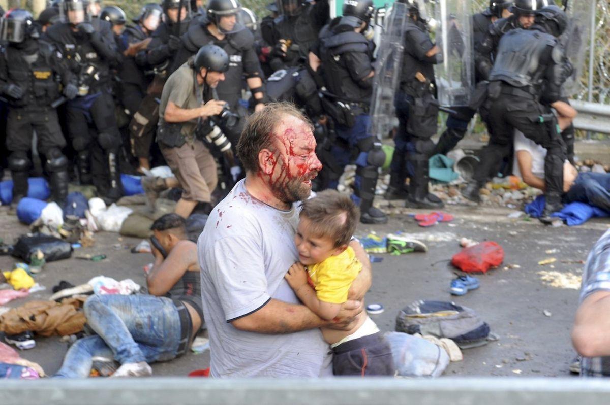 Para a ONU, situações como as de Setembro de 2015, na Hungria, em que forças policiais usaram a violência contra migrantes, não se pode repetir