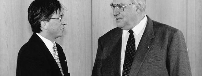 Die beiden Politiker verband eine tiefe Freundschaft.