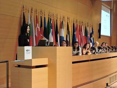 More than 250 pupils from around the world took part in the conference
