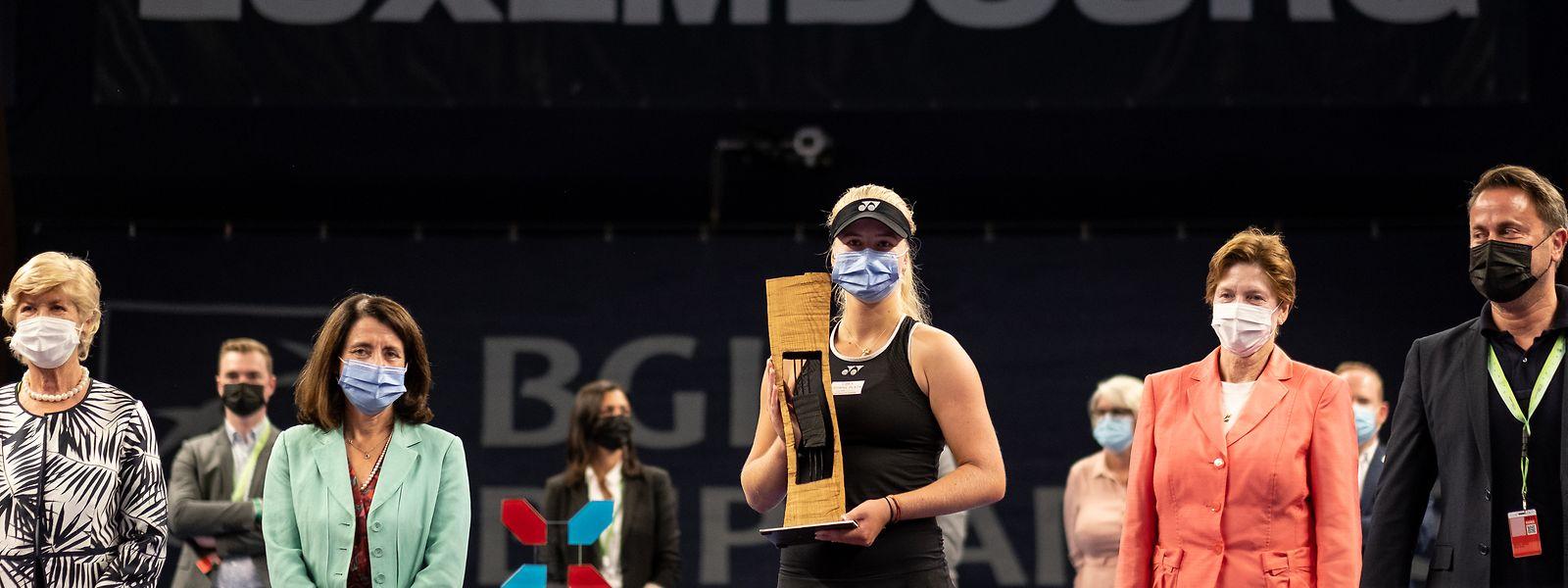 Zweiter WTA-Titel für Clara Tauson.