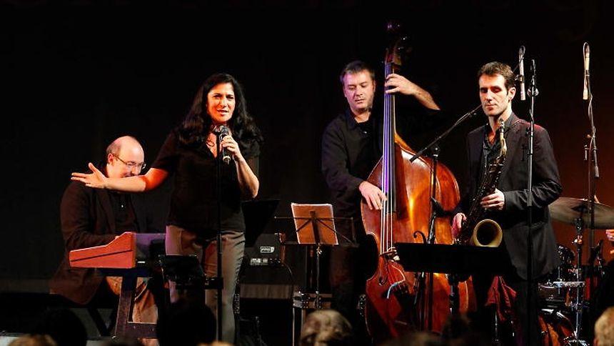 """Patrick Hartert (l.) mit seiner Band  2012 bei den """"Walfer Bicherdeeg""""."""