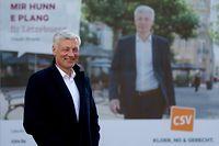 Chamberwahlen 2018, Claude Wiseler,CSV..Foto:Gerry Huberty