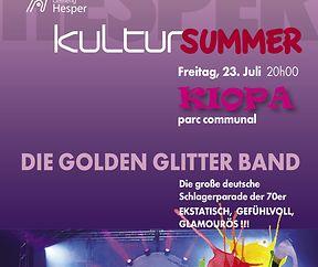 """""""Die Golden Glitter Band"""""""