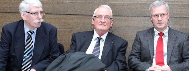 Neben Guy Stebens (r.) stand am Donnerstag auch der Ex-GOR-Beamte Georges Zenners (l.) im Zeugenstand. Ex-Srel-Chef Charles Hoffmann wurde hingegen noch nicht befragt. Er soll am kommenden Mittwoch aussagen.