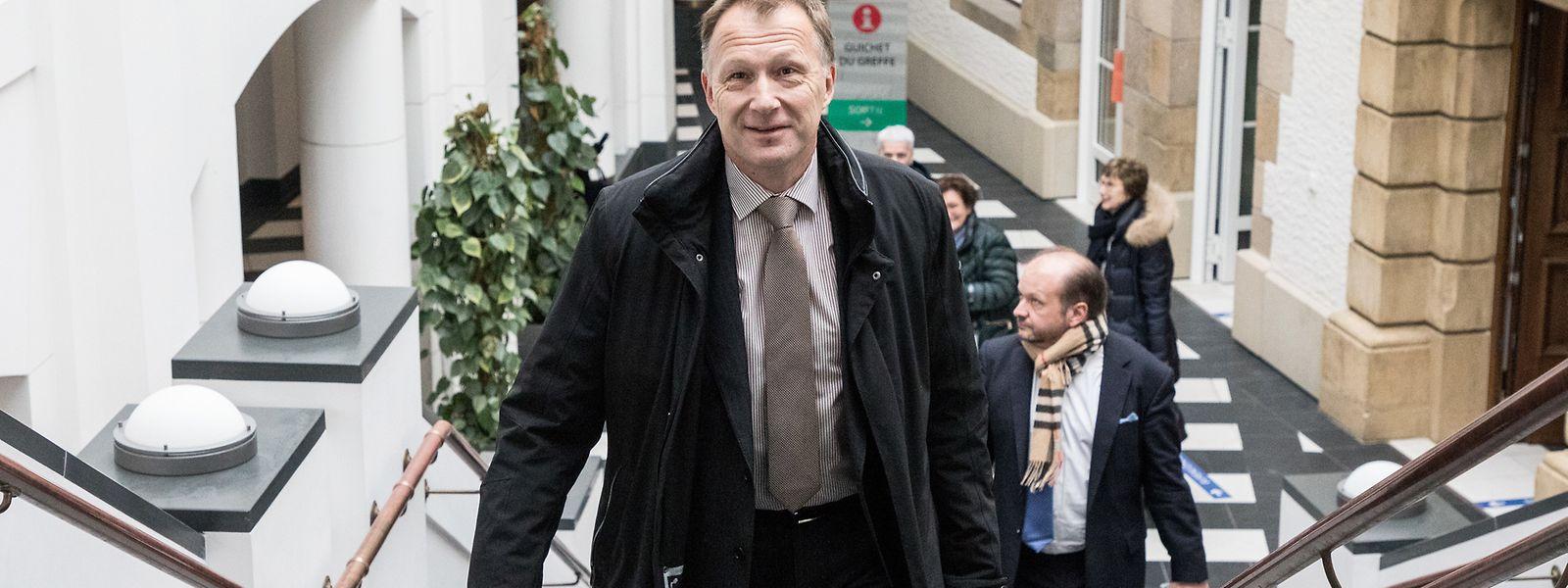 Marco Mille war zum Zeitpunkt der Abhörmaßnahmen Leiter des Geheimdienstes.