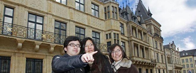 Les Américians, Japonais et Chinois sont de plus en plus nombreux à venir passer leurs vacances au Luxembourg.