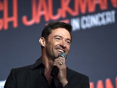 (FILES) This file photo taken on August 24, 2015 shows Australian movie star Hugh Jackman speaking during a press conference in Sydney.  Jackman has again undergone treatment for skin cancer, urging people on February 9, 2016 to wear sunscreen and have regular check-ups.     AFP PHOTO / FILES / Saeed Khan
