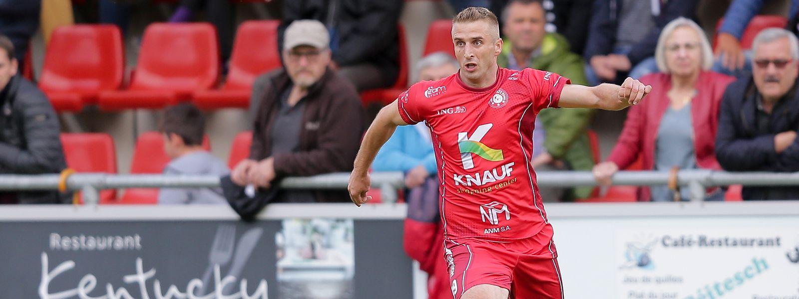 Der Wiltzer Sanel Ibrahimovic kann in Zukunft wieder in der BGL Ligue auf Torejagd gehen.