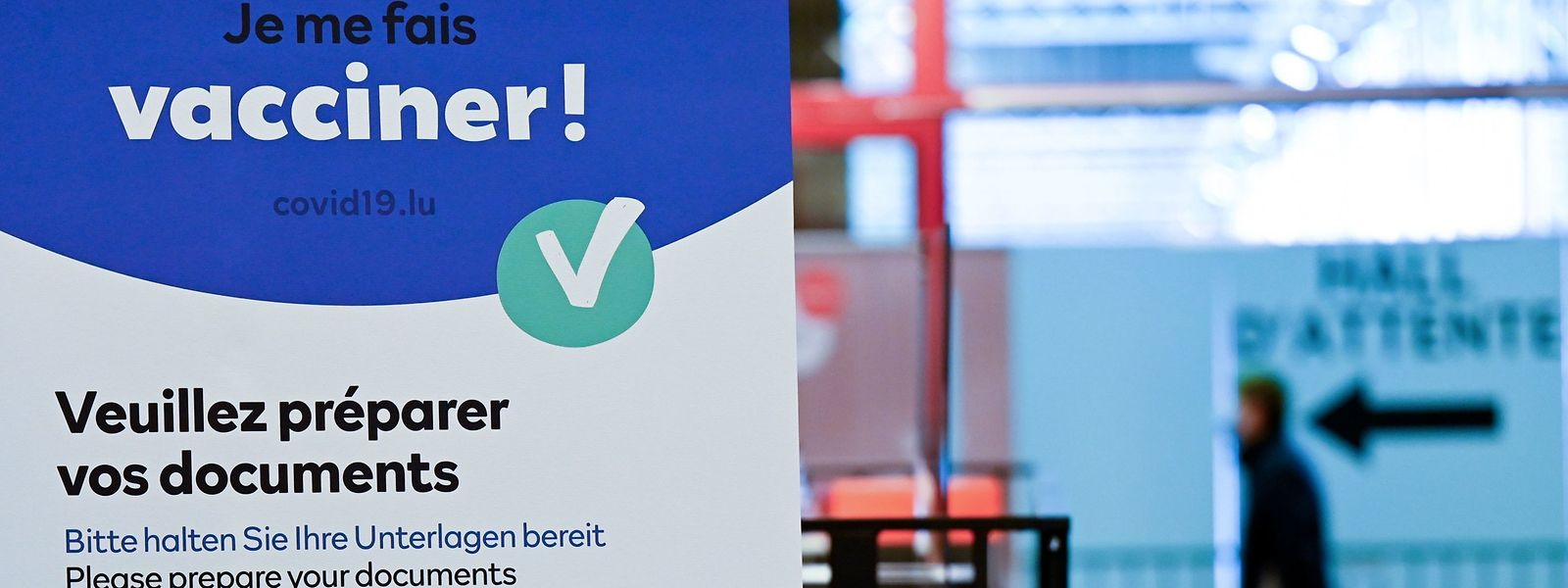 Die Impfkampagne in Luxemburg schreitet immer schneller voran.