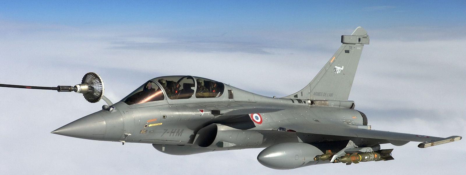 Französischer Exportartikel: Kampfflugzeug vom Typ Rafale.