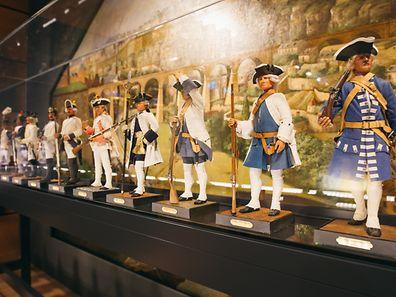 Musee de la ville de luxembourg / citadins et soldats / Invitation aux Musées / Luxembourg-Centre / 20.05.2017 / Foto: Laurent Ludwig