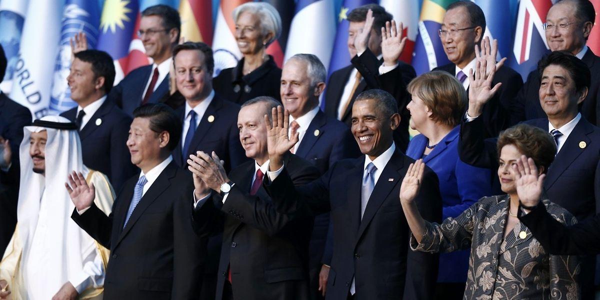 An dem Treffen nehmen Vertreter der 20 wichtigsten Industrie- und Schwellenländer teil.