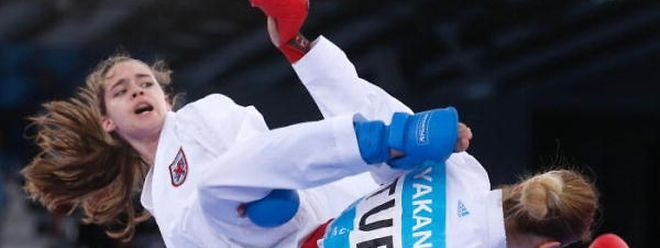 Jenny Warling verkörpert internationale Spitzenklasse im Karate.