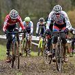 Lex Reichling (VV Tooltime) und Scott Thiltges (LG Alzingen) - Cyclocross in Leudelingen - Foto: Serge Waldbillig