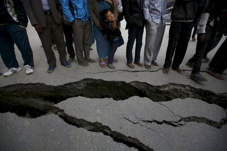 Das Erdbeben hatte Stärke 7,9 auf der Richterskala