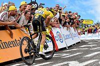 Julian Alaphilippe (F/Deceuninck) - 6. Etappe - Mulhouse / La Planche des Belles Filles 160,5 km - Tour de France 2019 - Foto: Serge Waldbillig