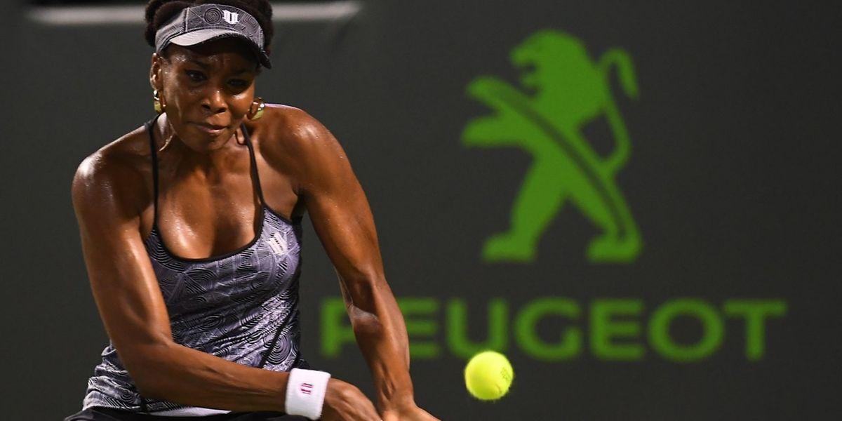 Quand Serena n'est pas là, Venus défend avec brio l'honneur de la famille Williams dans son tournoi-fétiche de Miami