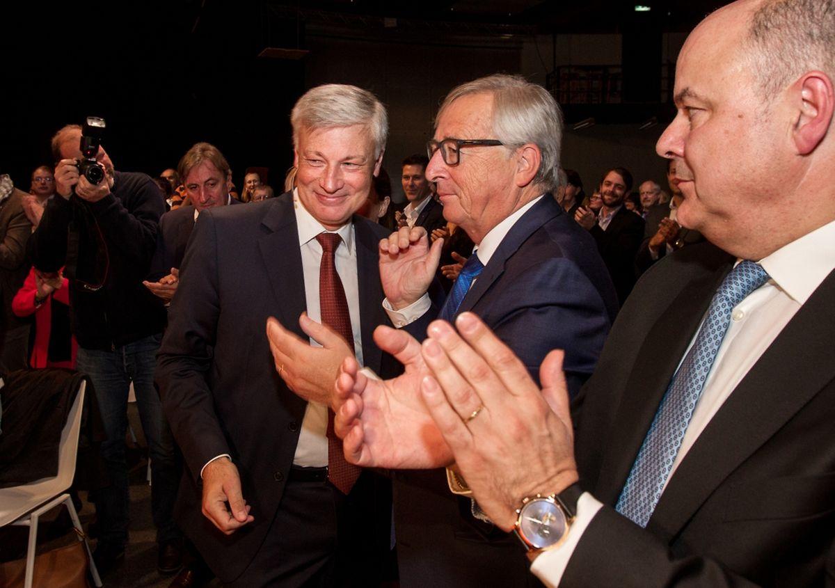 Neben den rund 500 wahlberechtigten CSV-Delegierten waren auch einige Ehrengäste wie EU-Kommissionspräsident Jean-Claude Juncker unter den Gästen.
