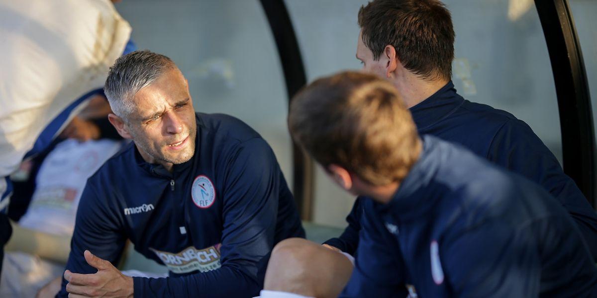 Mario Mutsch se félicite de l'amalgame entre jeunes et joueurs expérimentés comme lui.
