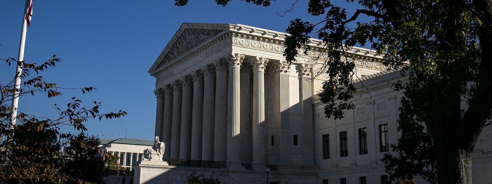 Der Oberste Gerichtshof in Washington.
