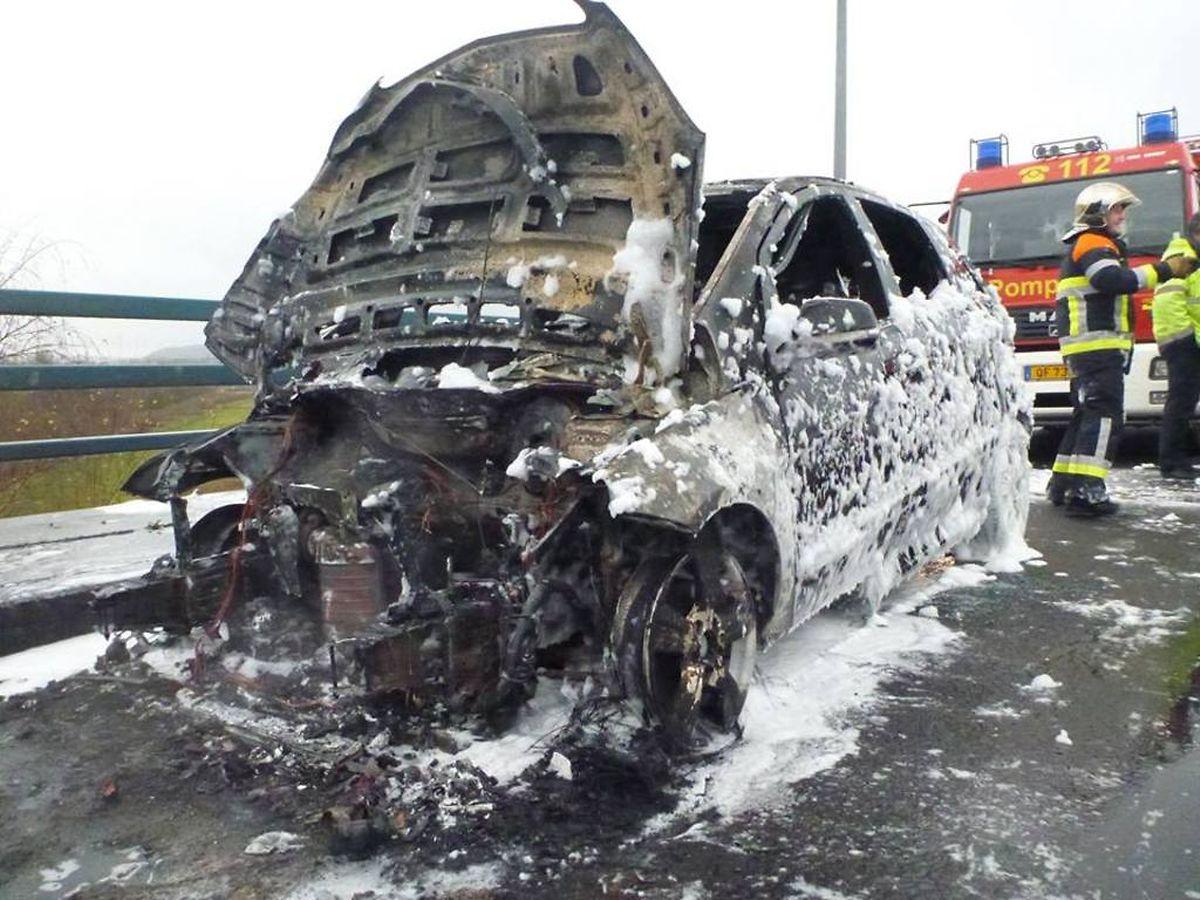 Der Fahrer blieb unverletzt.