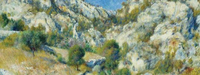 Auguste Renoir, Felsen bei Estaque, 1882.