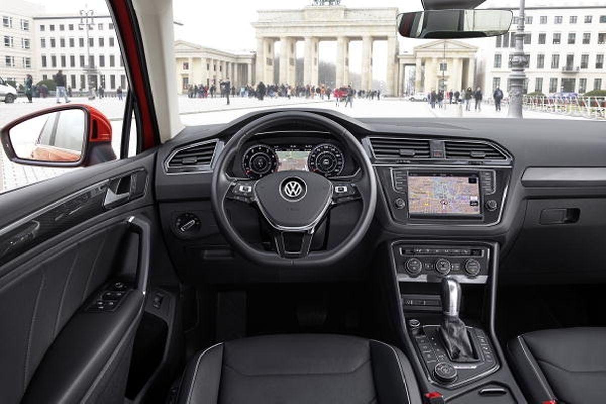 Der neue VW Tiguan überzeugt mit klaren Designlinien und sehr ausgewogenen Proportionen.