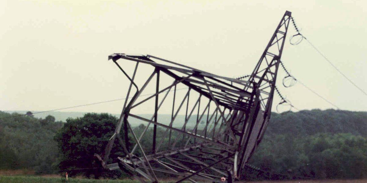Erst beim zweiten Versuch am 2. Juni 1984 gelang es den Attentätern, den Stahlgittermast umzulegen.