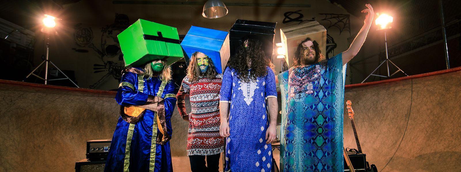 Rock aus Australien: Die Psychedelic Porn Crumpets treten am 30. Juli in den Rotondes auf.