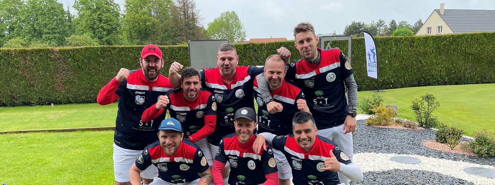 Der Luxembourg Footgolf Club überzeugte in der Coupe de France.