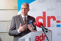 IPO , ADR , Bilanz Chambersession , Fernand Kartheiser , Gast Giberyen , Foto:Guy Jallay/Luxemburger Wort