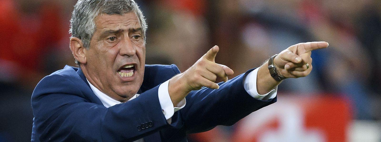 Fernando Santos garante que Portugal vai estar no Mundial da Rússia, emm 2018
