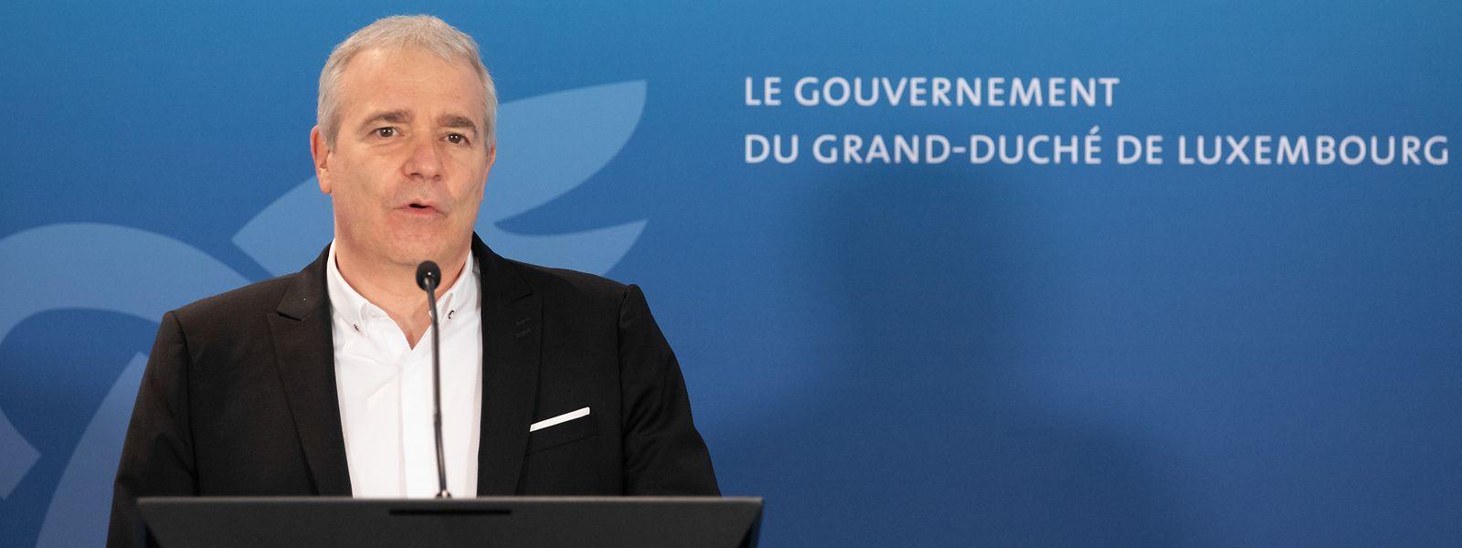 """Dan Kersch sieht sich in seiner Ablehnung eines zusätzlichen Ersatzgehalts durch die """"Union des Entreprises Luxembourgeoises"""" (UEL) bestätigt."""