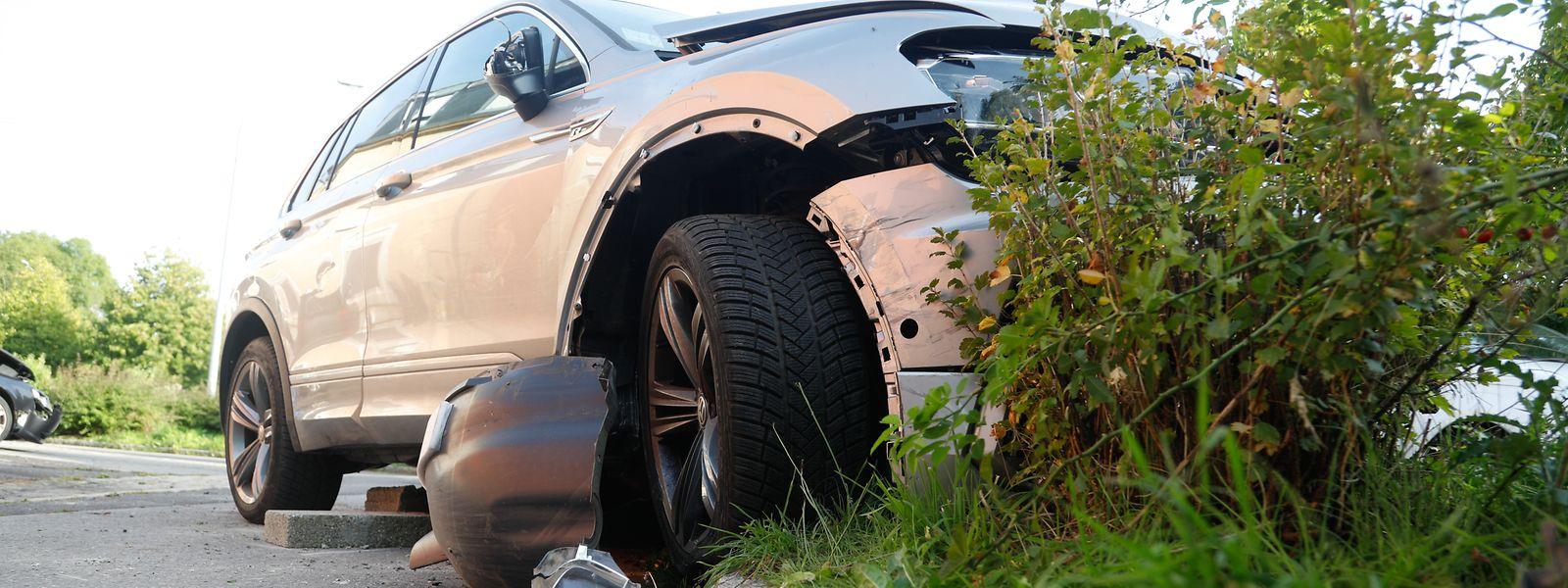 Bei dem Unfall wurden vier Personen verletzt.